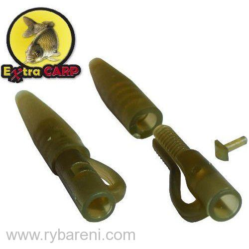 Lead clip with Tail Rubbe