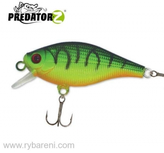 Wobler Baby Shad - 5,5 cm, 3,8 g, plovoucí