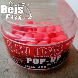POP UP Fluoro - Chilli losos